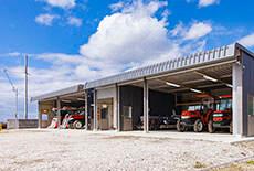 農業用倉庫設置イメージ